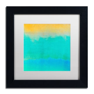 Color Bakery 'Gradients II' Matted Framed Art