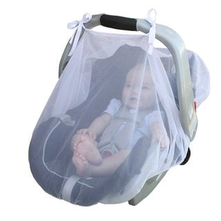 Jolly Jumper Infant Car Seat Bug Netting
