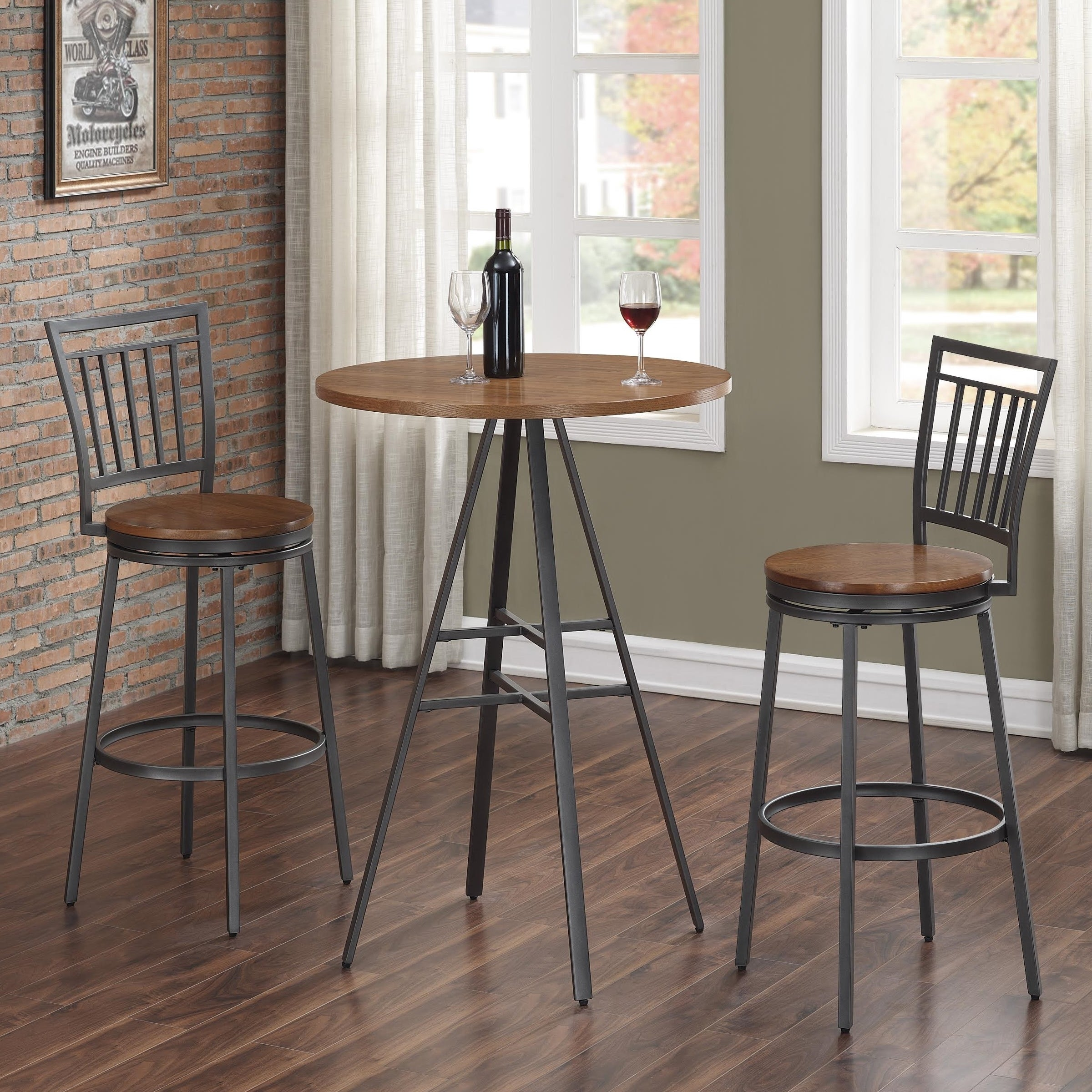 Picture of: Finley 3 Piece Pub Table Set By Greyson Living See Product Description See Product Description On Sale Overstock 14783259