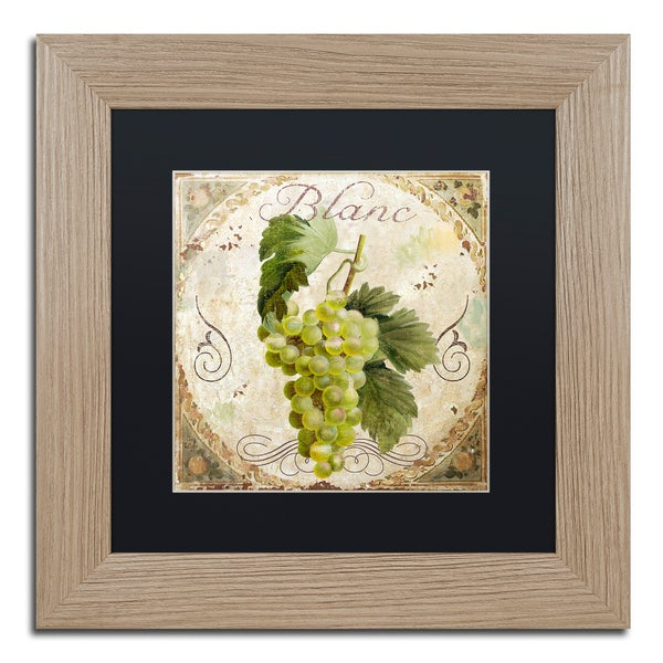 Color Bakery 'Tuscany Table Blanc' Matted Framed Art - Green