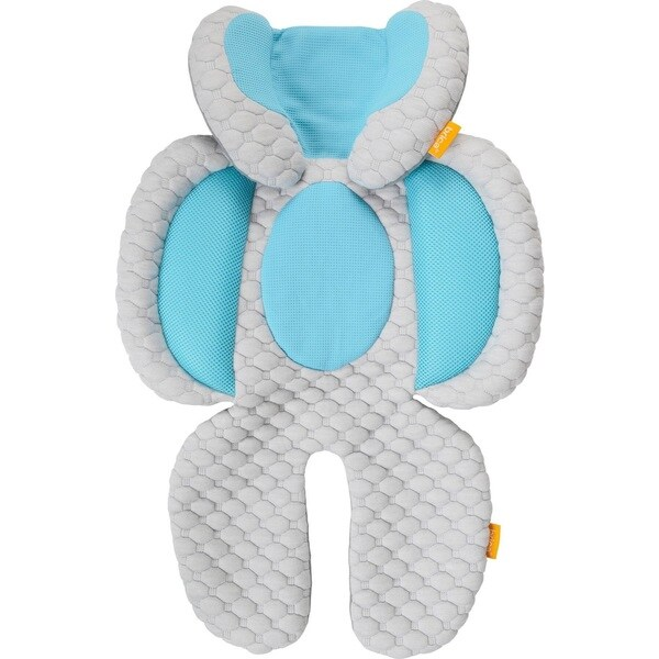 Brica Cool Cuddle Blue/Grey Cotton Head and Body Support