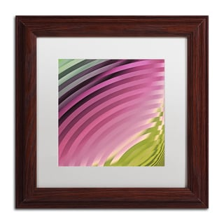Color Bakery 'Satin II' Matted Framed Art