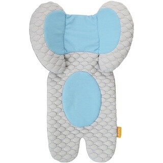 Brica Cool Cuddle Blue Cotton Head Support