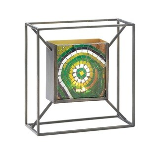Gallery Artistic Green Wall Candle Holder