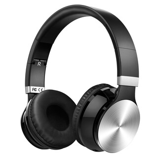 Bluetooth Wireless Headset with Mic and Wired Mode, Foldable Over Ear Headphones for PC, Smartphones (2 options available)