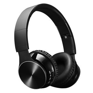 Bluetooth Wireless Headset with Mic and Wired Mode, Foldable Over Ear Headphones for PC, Smartphones