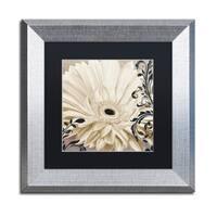 Color Bakery 'Winter White I' Matted Framed Art - Grey