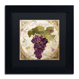 Color Bakery 'Tuscany Table Rouge' Matted Framed Art
