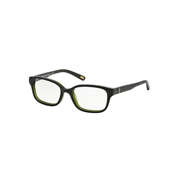 0578c3203f8 Shop Polo by Ralph by Ralph Lauren Lauren Men s PP8520 597 48 Rectangle  Plastic Havana Clear Eyeglasses - Free Shipping Today - Overstock.com -  14785265