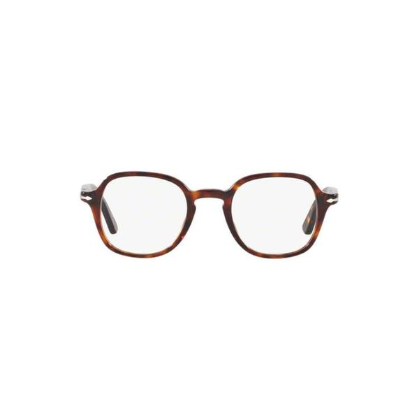 c24638bd008a3 Persol Men  x27 s PO3142V 95 47 Square Plastic Black Clear Eyeglasses