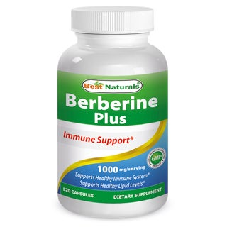 Best Naturals 1000mg Berberine Plus (120 Capsules)