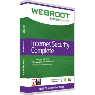 Webroot Internet Security Complete
