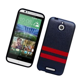Insten Leather TPU Case Cover For HTC Desire 510