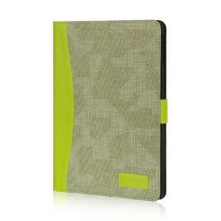 Insten Olive/ Green Leather Case Cover with Stand For Apple iPad Air