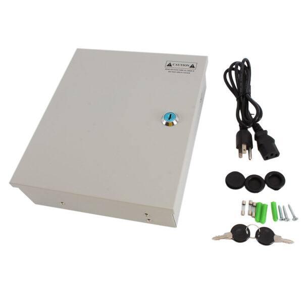 Shop 9-port 12V 5A CCTV Cameras Power Supply - Free Shipping