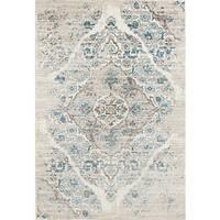 Persian Rugs Blue/Cream Area Rug - 8'7 x 12'6