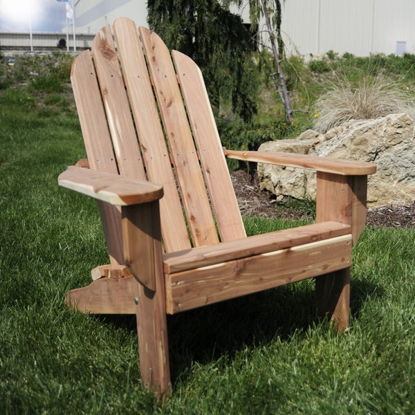 Shop Amerihome Amish Made Adirondack Chair Free Shipping