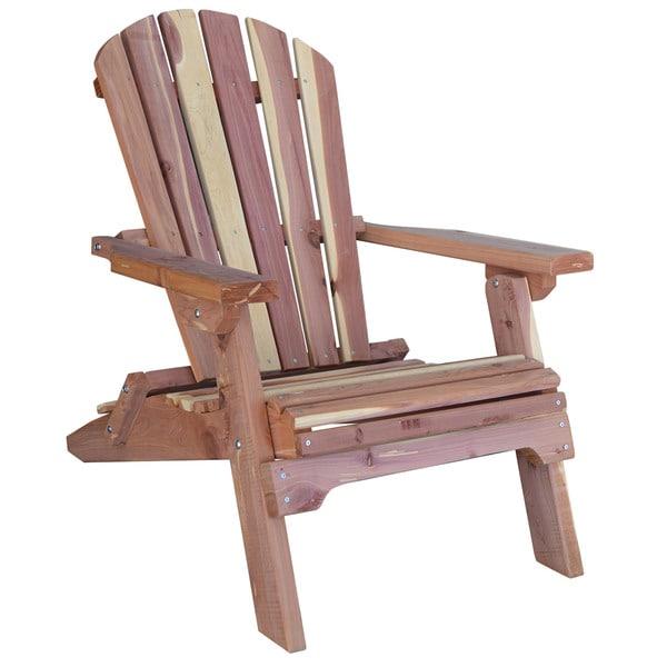 Shop AmeriHome Amish Made Folding Adirondack Chair - Free ...