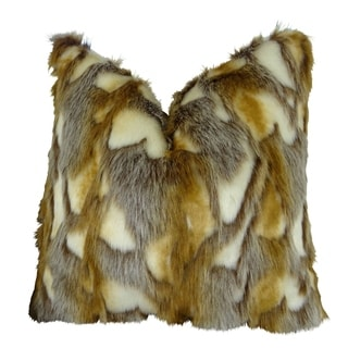 Plutus Brandy Fox Handmade Throw Pillow