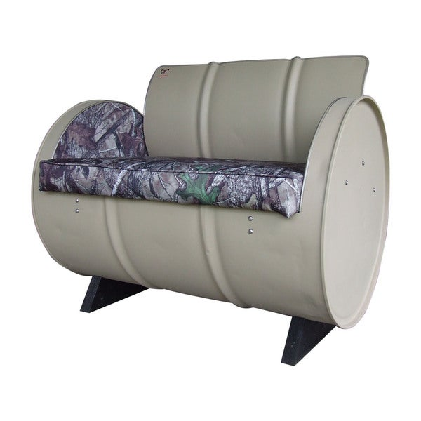 Shop Drum Works Furniture Htc True Timber Camo Armchair Mat Tan