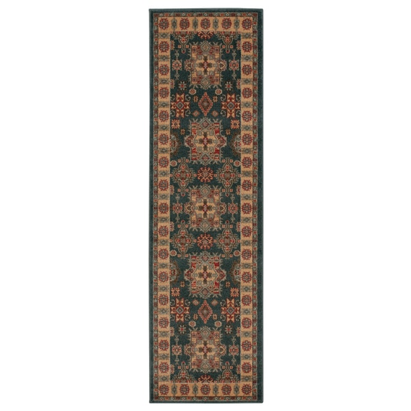 Rug Squared Ramsey Midnight Area Rug (2'2 x 7'6)