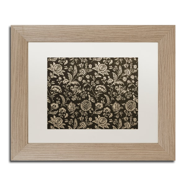Color Bakery 'Toile Fabrics VIII' Matted Framed Art