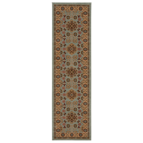 Rug Squared Ramsey Sky Area Rug (2'2 x 7'6)