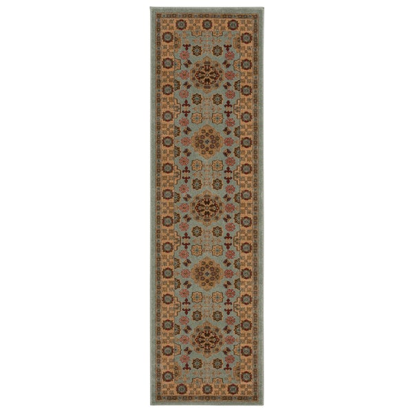 Rug Squared Ramsey Sky Area Rug - 2'2 x 7'6