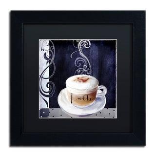 Color Bakery 'Cafe Blue II' Matted Framed Art