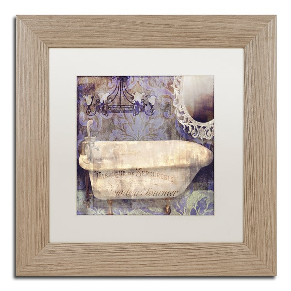 Color Bakery 'Le Bain Paris II' Matted Framed Art