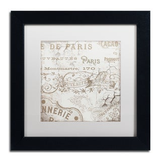 Color Bakery 'Bon Mots IV' Matted Framed Art