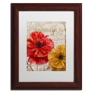 Color Bakery 'March' Matted Framed Art