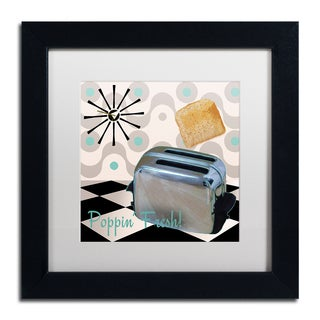 Color Bakery 'Fifties Kitchen I' Matted Framed Art