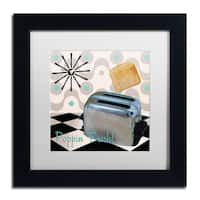 Color Bakery 'Fifties Kitchen I' Matted Framed Art - Multi