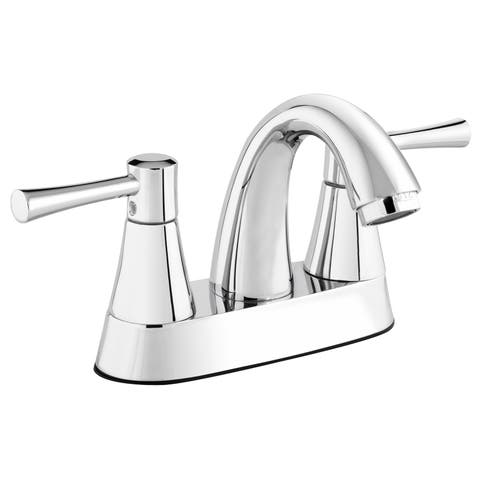 NEO73CCP Polished Chrome 2-handle 4-inch Centerset Bathroom Sink Faucet