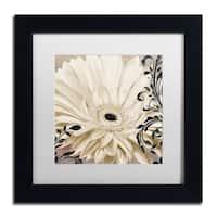 Color Bakery 'Winter White I' Matted Framed Art
