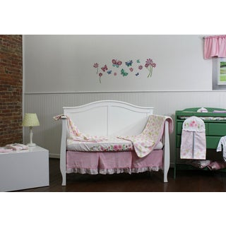 Garden District 8-piece Nursery Bedding & Décor Collection