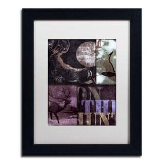 Color Bakery 'On the Hunt II' Matted Framed Art