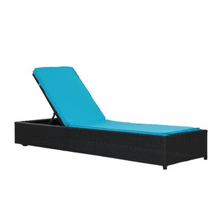 Modern Outdoor Rattan Lounge Chaise