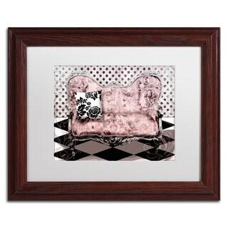Color Bakery 'Poitrine Rose' Matted Framed Art