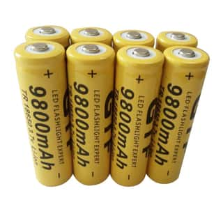 Universal 18650 3.7V 9800mAh Li-ion Rechargeable Battery Cell (Pack of 8)|https://ak1.ostkcdn.com/images/products/14789757/P21310391.jpg?impolicy=medium