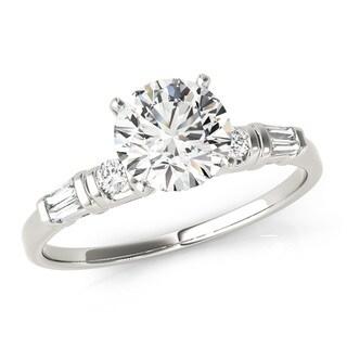 Transcendent Brilliance Anniversary Diamond Wedding Ring 14k Gold 5/8 TDW