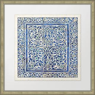 Melissa Van Hise 'Colorful Tiles II' Framed Wall Art