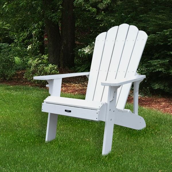 Island Retreat Adirondack Chair   White