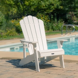 island retreat adirondack chair white
