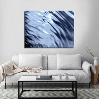 Ready2HangArt Indoor/Outdoor Wall Decor 'Blue Tranquility V' in ArtPlexi by NXN Designs
