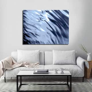 Ready2HangArt Indoor/Outdoor Wall Decor 'Blue Tranquility V' in ArtPlexi by NXN Designs - Blue
