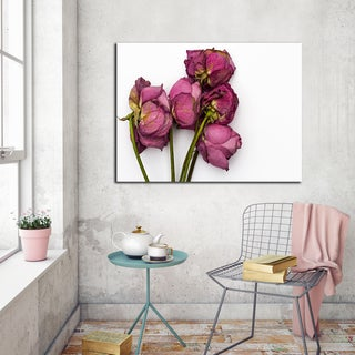 Ready2HangArt Indoor/Outdoor Wall D.cor 'Thinking of You III' in ArtPlexi by NXN Designs - Green/Pink (4 options available)