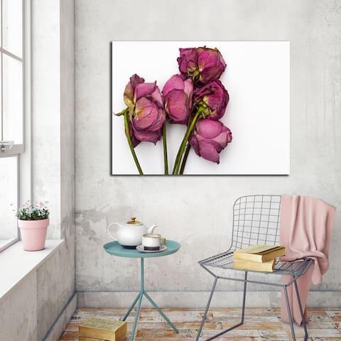 Ready2HangArt Wall Decor 'Thinking of You III' in ArtPlexi by NXN Designs - Green