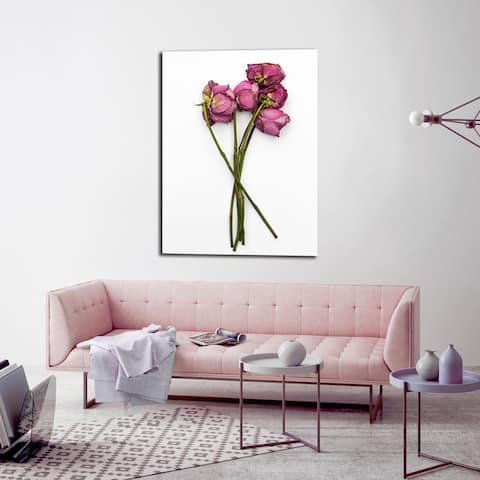 Ready2HangArt Wall Decor 'Thinking of You II' in ArtPlexi by NXN Designs - Green